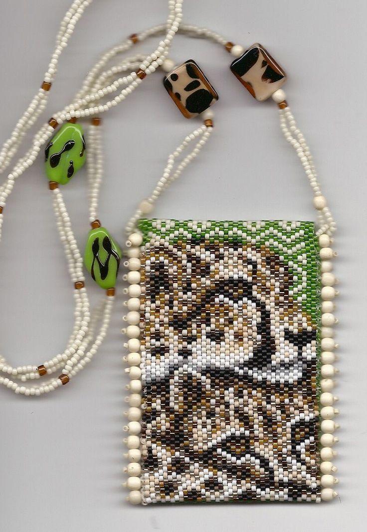 Cheetah Amulet Bag