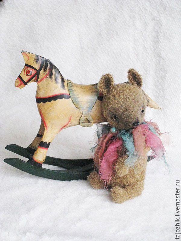 Купить Тапир - коричневый, заяц тедди, друзья тедди, заяц, авторская игрушка, Вязание крючком