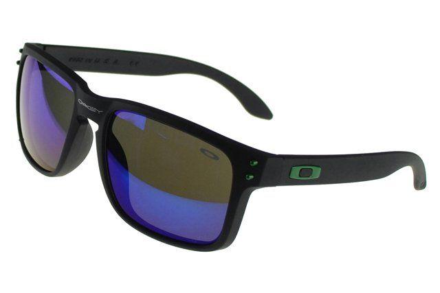 AAAAA Replica Oakley Holbrook Sunglasses black Frame purple Lens#Oakley Sunglasses