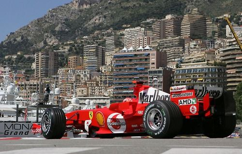 Michael Schumacher Ferrari F2005 (Monaco)