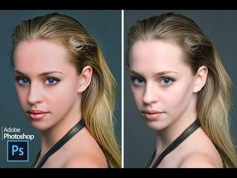 HI-END Skin Retching in Photoshop CS6 BY Photoshop tutvid