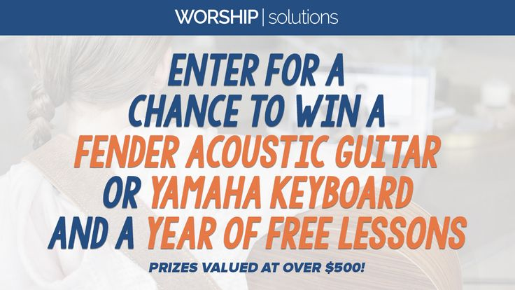 Win your choice of Fender Guitar or a Yamaha Keyboard ! http://woobox.com/5r3t87/j2ja1j