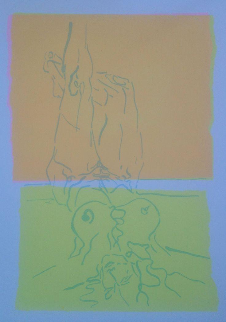 Transparent ink, silkscreen