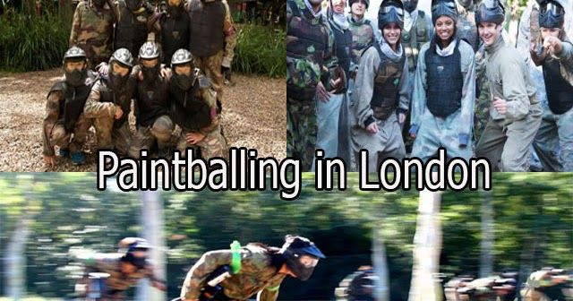 Campaign-Paintball: How to Throw a Party of Paintballing in London