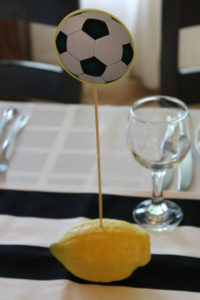 Lemon and football