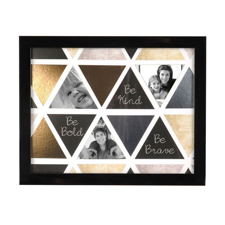 Be Bold Metallic Collage Frame | Kirklands