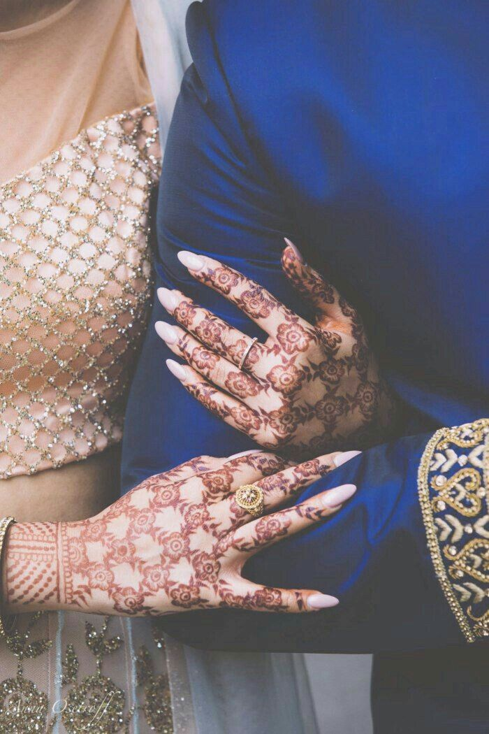 Henna , Arabian Couple