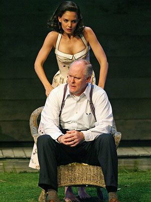 Katie Holmes and John Lithgow, All My Sons