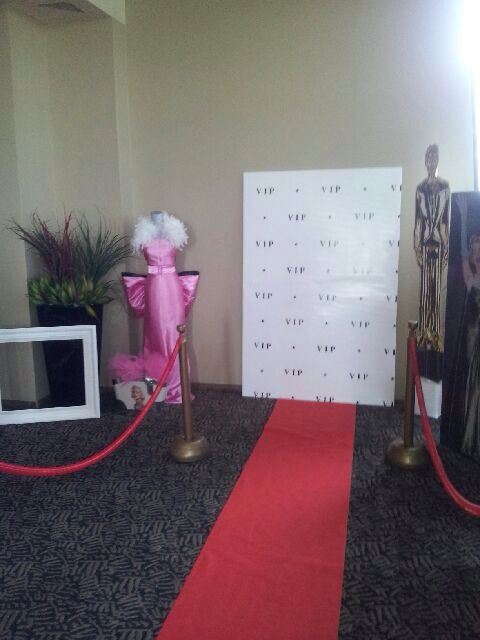Hollywood Themed Party-VIP Red Carpet PROP