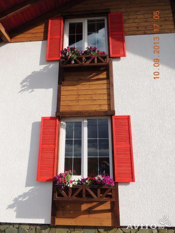 Окна центрального фасада!