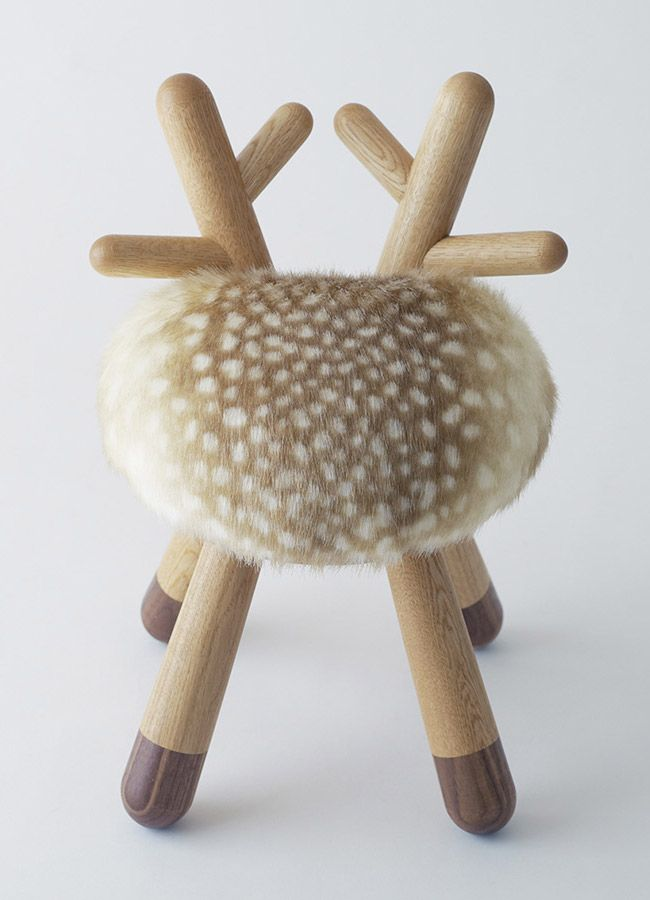 Poligöm // Kamina&C - Bambi Chair ...Not sure how I feel about this...