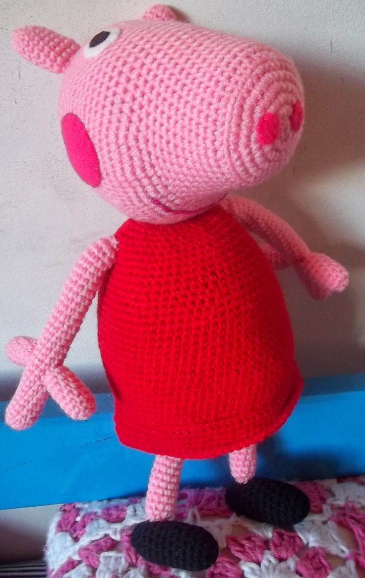 10 best Peppa images on Pinterest | Peppa pig, Crochet toys and ...