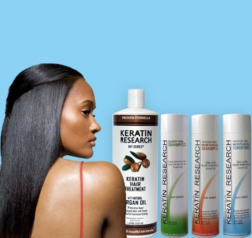 Complex Brazilian Keratin Hair Treatment 4 Bottles 1000ml Kit Includes Sulfate Free ** Read more  at the image link.