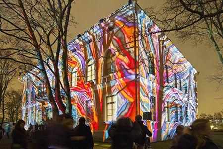 LUX light festival 2016, Helsinki Finland