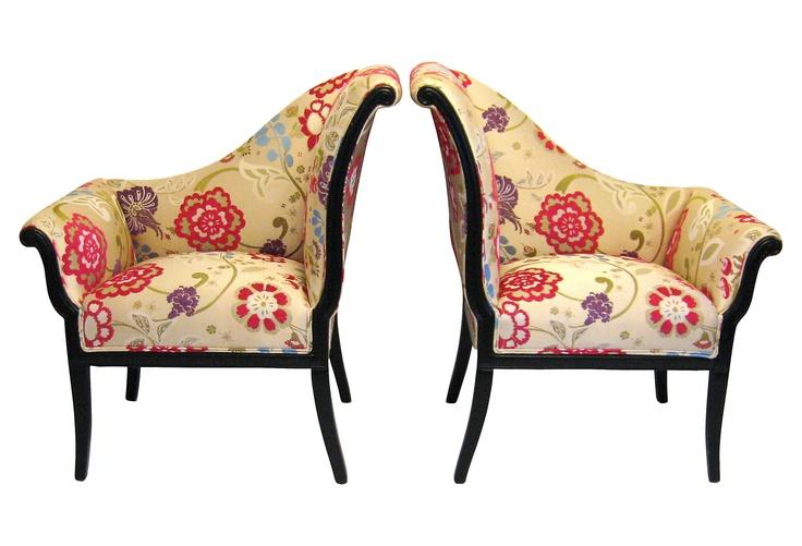 Art Deco Style Asymmetrical Chairs Chicago Pinterest