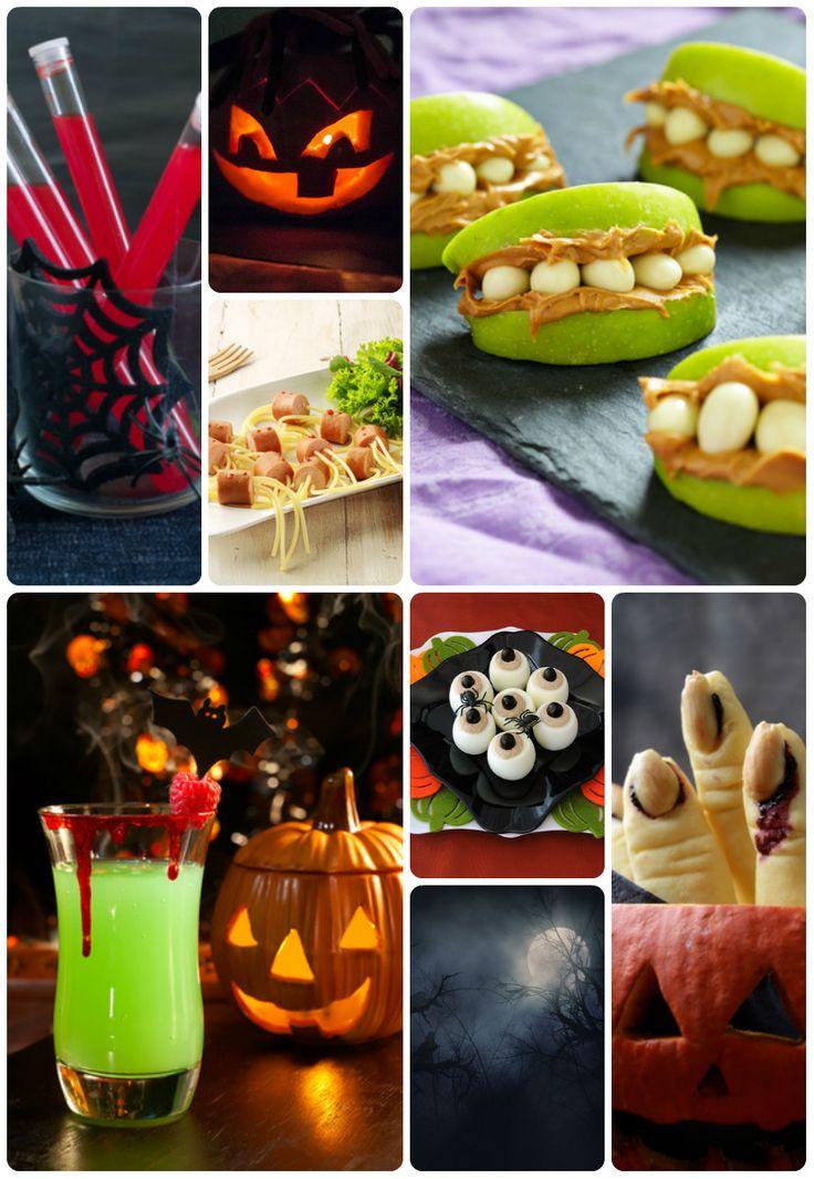 halloween deko ideen schaurige snacks und drinks zur halloweenparty gunstig