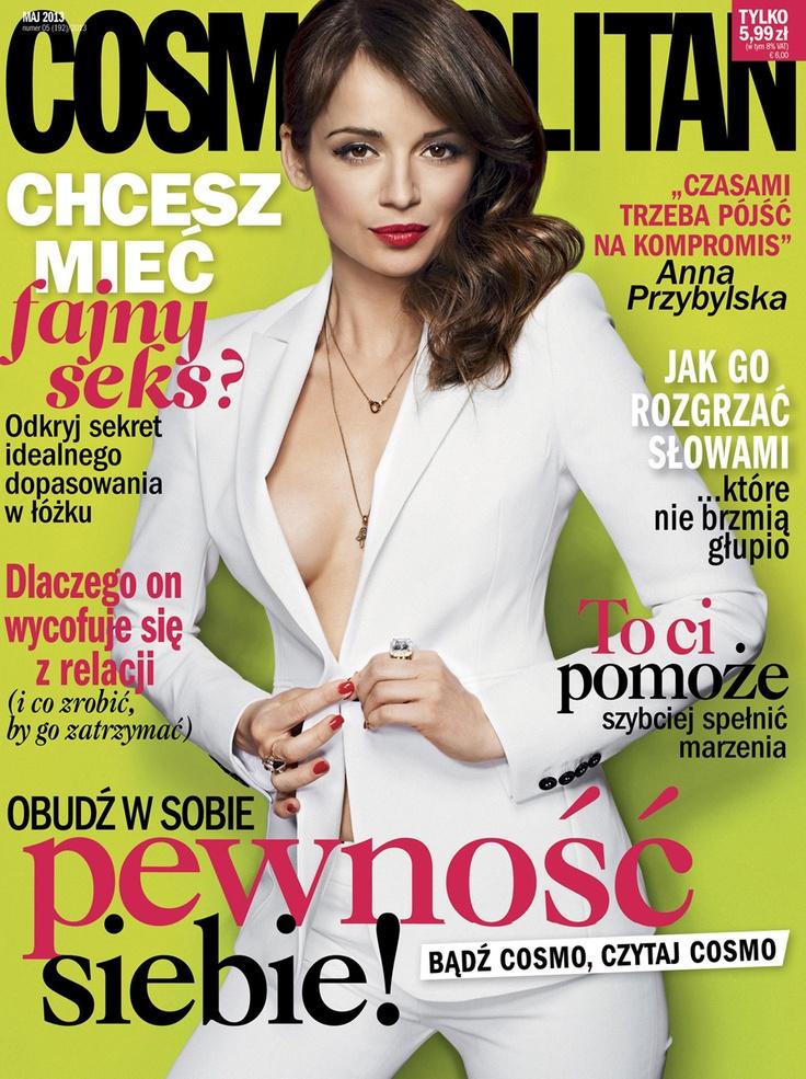 Nasza Ania dla Cosmopolitan.    #Ania #Anna #Przybylska