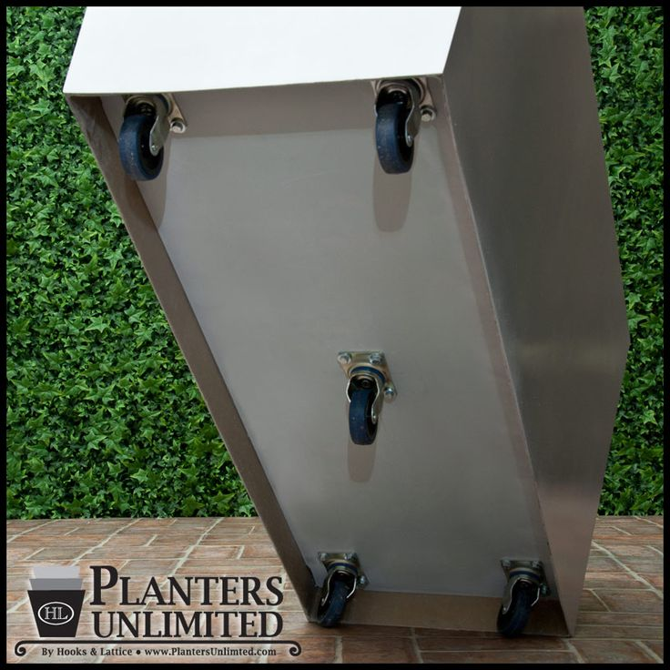 Planters On Casters Examples If Bill Is To Make Planters, This Is An Idea  For