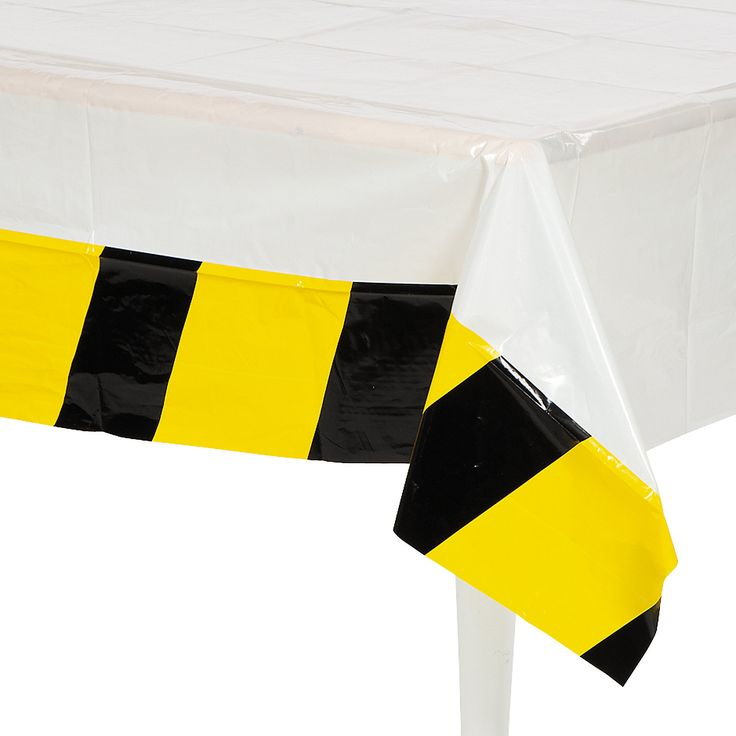 Construction Table Cover - OrientalTrading.com