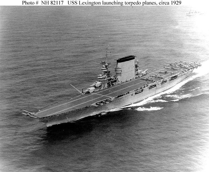 USN Ships--USS Lexington (CV-2, originally CC-1)