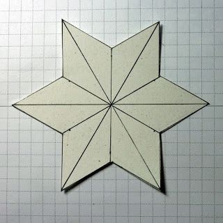 Stampin Along With Heidi: Making the 3-D Six-sided Star---Doing the Math.