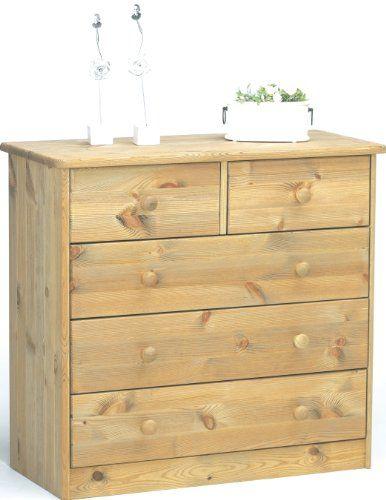Steens 17801230 Mario - Cómoda de madera pino maciza, lavada y engrasada (73 x 78 x 35 cm) - http://vivahogar.net/oferta/steens-17801230-mario-comoda-de-madera-pino-maciza-lavada-y-engrasada-73-x-78-x-35-cm/ -