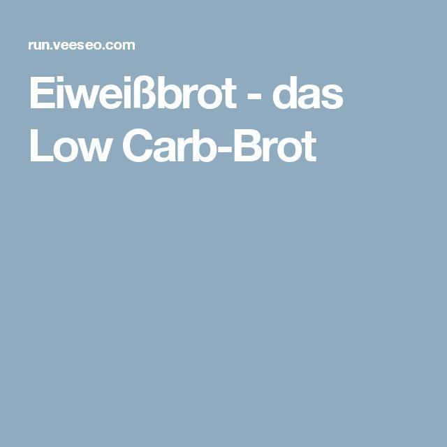 Eiweißbrot - das Low Carb-Brot