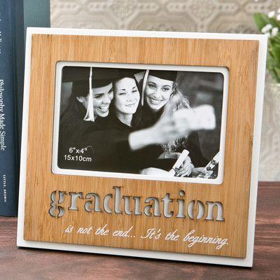 FashionCraft Laser Engraved Graduation Picture Frame