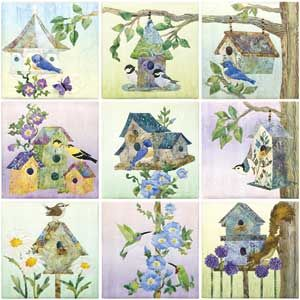 87 best Birdhouse quilts and patterns images on Pinterest | Quilt ... : birdhouse quilts - Adamdwight.com