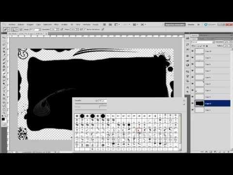 Tutorial photoshop Marcos Artisticos - YouTube