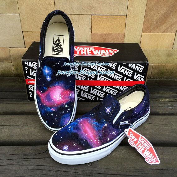 Hey, I found this really awesome Etsy listing at https://www.etsy.com/listing/196802054/art-galaxy-vans-shoes-galaxy-shoeshand