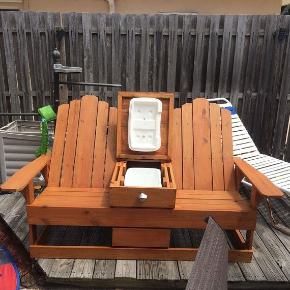 Adirondack Chairs With Built In Cooler By