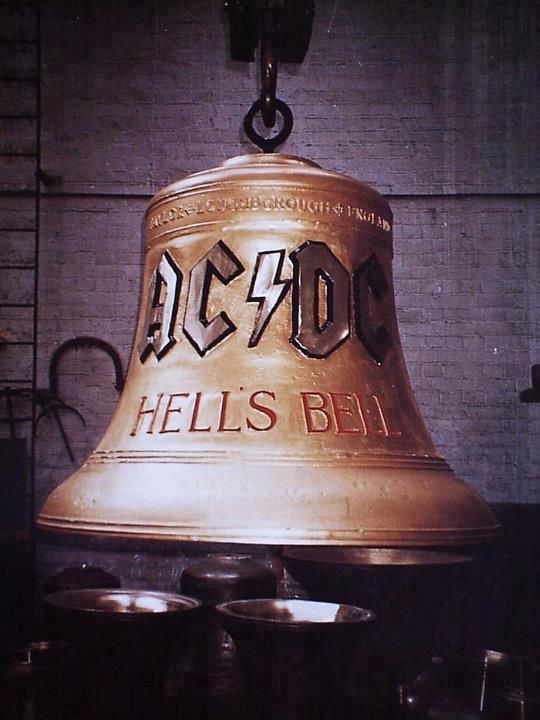"""""""Ur makin me ring HELLS BELLS!"""" love listening to this getting ready for a night out! yeah!"""