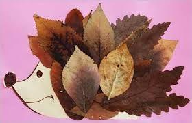 Afbeeldingsresultaat voor herfstbladeren knutselen
