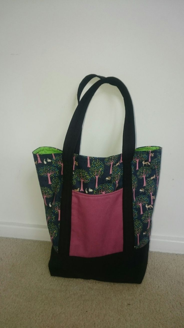 Lined tote bag.  For mum.