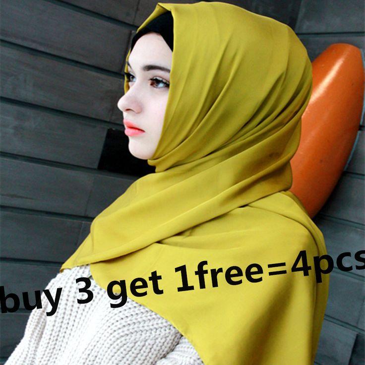 32 colors women's silk scarf shawl muslim girls hijab  caps turban  islamic muslim head coverings CQ 6606