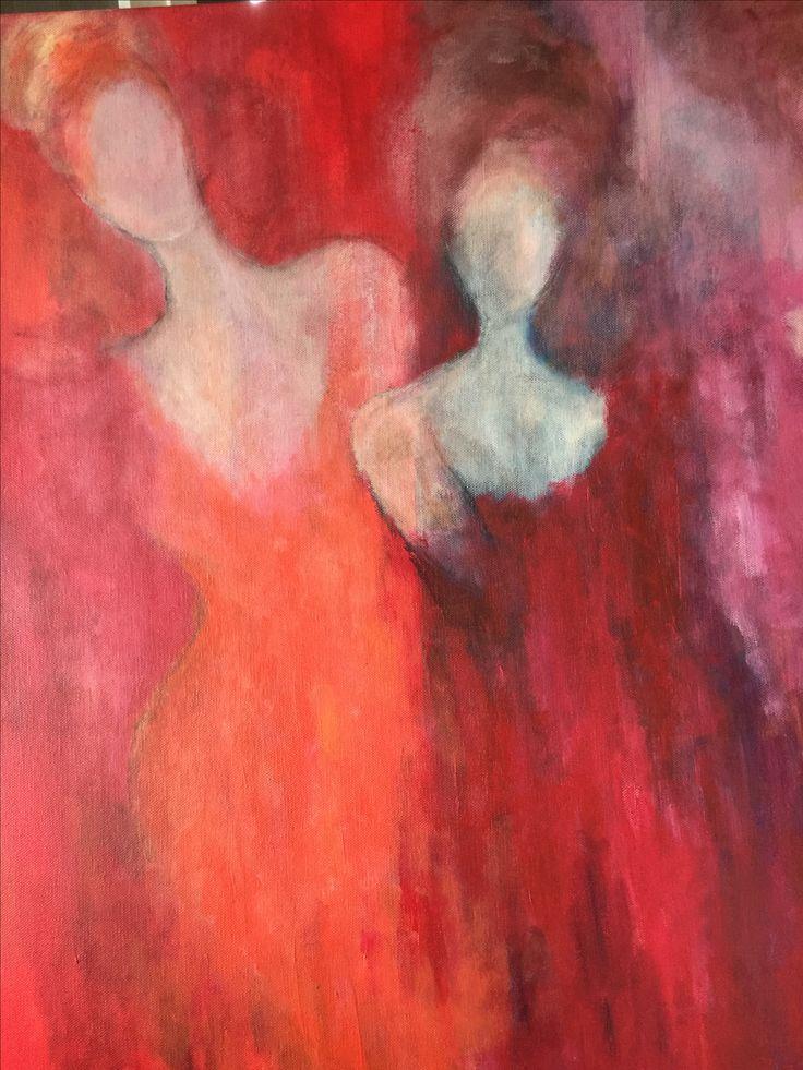 Acrylic 90x70. Karina Ravneng