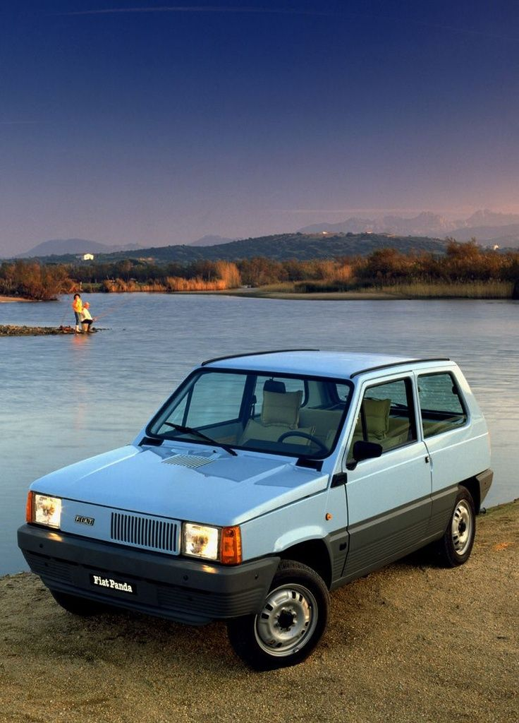 """specialcar: """" In 1980 the Fiat Panda designed by Giugiaro makes its debut. """""""