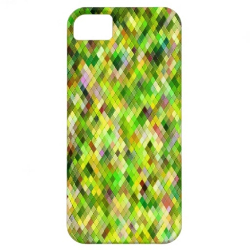 Harlequin _Birch_601a - by Greta Thorsdottir - iPhone 5 case from Zazzle