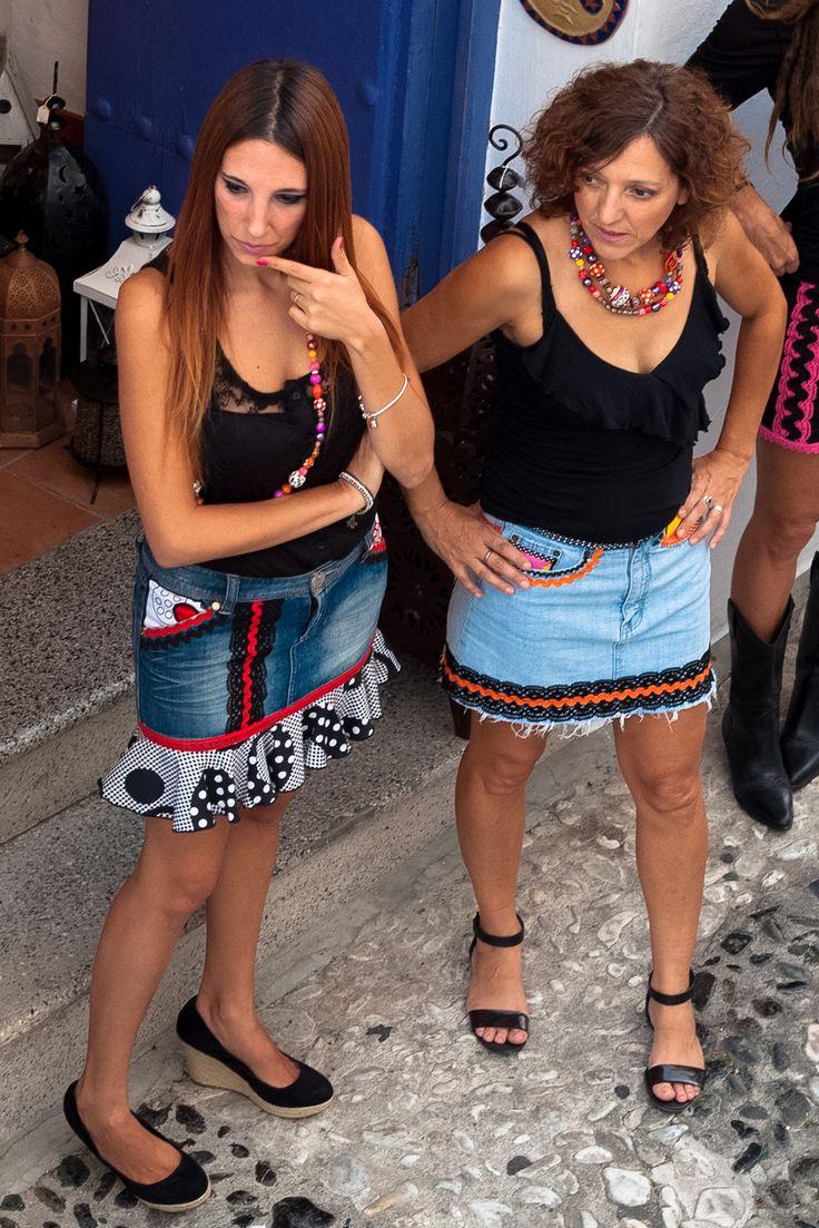Flamenkamelia Urban Flamenco Mini Skirts www.madeinfrigiliana.com