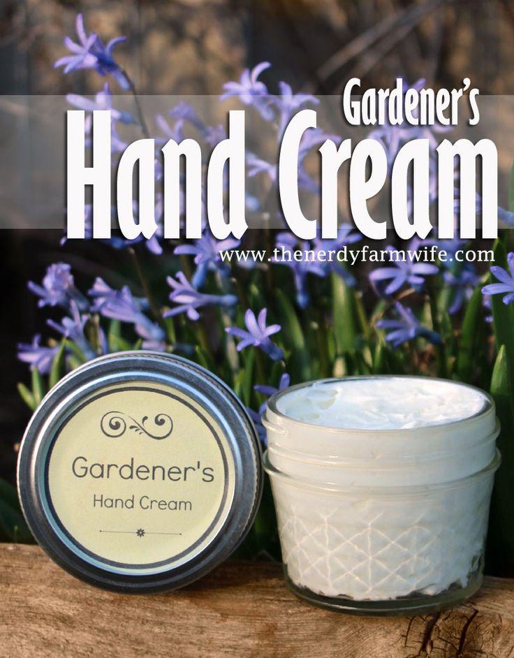 Gardener's Hand Cream (The Nerdy Farm Wife)