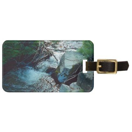 #Wild Forest River Bag Tag - #travel #accessories