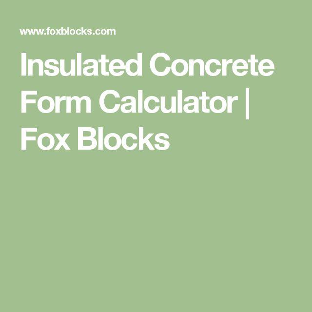 Best 25 Concrete cost calculator ideas on Pinterest