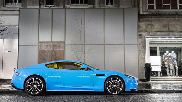 Electric Blue Aston Martin Vanquish 2014 | Super carsAston Martin Vanquish Blue