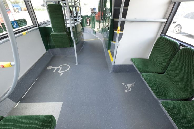 Oxford Bus Company making good use of our Kit Cutting service with two logo's detailed into the Altro Transflor Chroma