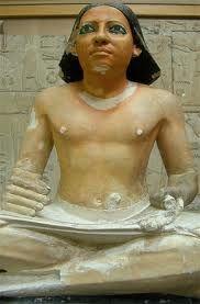 Escriba. Museo de el cairo