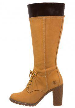 Timberland - GLANCY - Stivali con i lacci - wheat