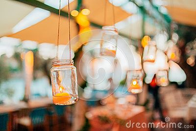 Wedding Decor, Candles In Glass Flasks - Download From Over 60 Million High Quality Stock Photos, Images, Vectors. Sign up for FREE today. Image: 90841416