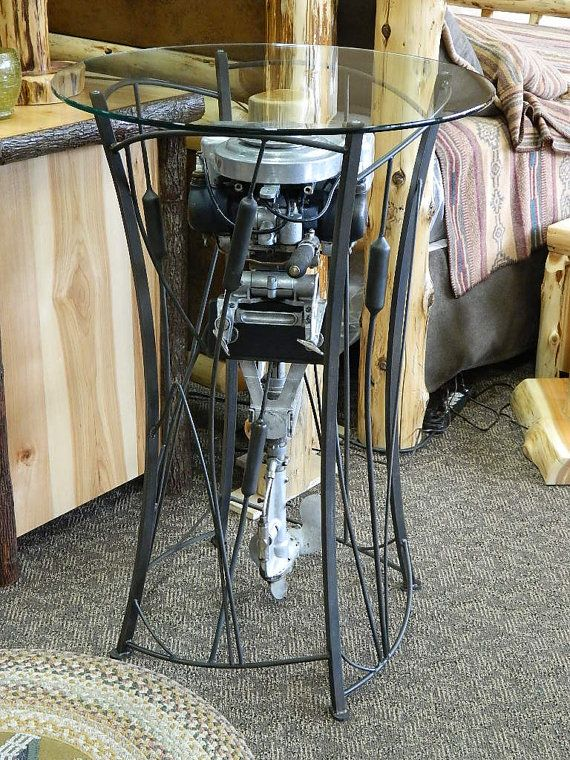 Outboard Motor Bar Table