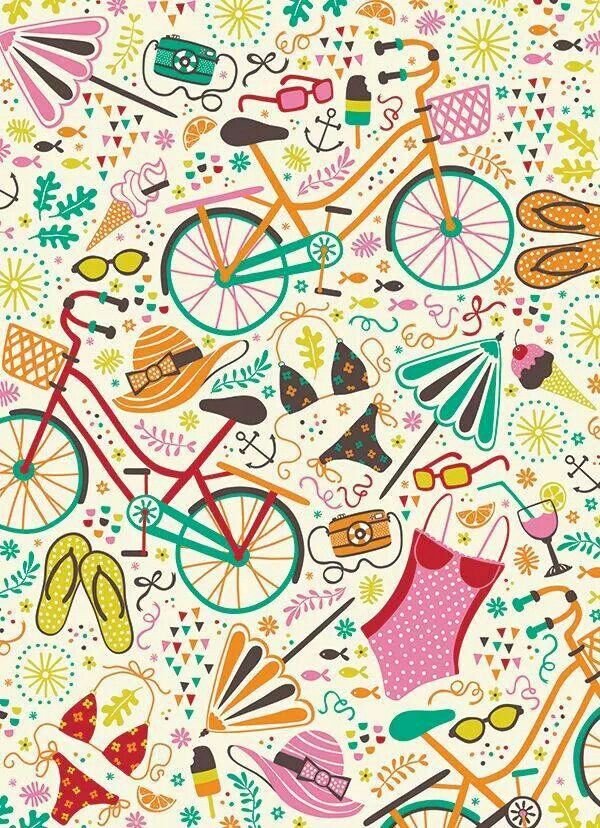 #bici #verano #playa